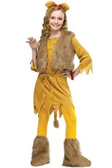 JJ-GOGO-Courage-Lion-Child-Girls-Cute-Halloween-Costume-0