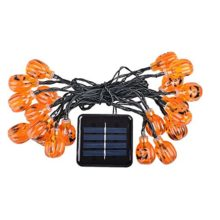 JOJOO-Solar-Powered-20-LED-16ft-Pumpkin-String-Lights-3D-Jack-O-Lantern-Halloween-Decoration-Lights-Warm-white-LT019-0