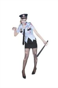 Karnival-Womens-Zombie-Cop-Costume-Set-Perfect-for-Halloween-Costume-Party-Accessory-Trick-or-Treating-0