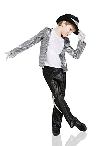 Kids-Boys-Pop-Star-Halloween-Costume-Moonwalker-Jazz-Dancer-Dress -Up-Role-Play-0  sc 1 st  Halloween Costumes Best : kids pop star costume  - Germanpascual.Com