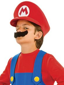Kids-Super-Mario-Hat-and-Mustache-Set-0