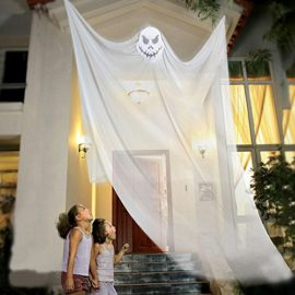 LITTLEGRASS-7ft-Halloween-Props-Halloween-Ghost-Decorations-Halloween-Hanging-Ghost-Prop-Halloween-Hanging-Skeleton-Flying-Ghost-Halloween-Hanging-Decorations-for-Yard-Outdoor-Indoor-Party-Bar-0