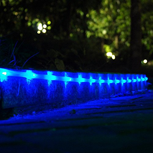 Lte solar powed rgb 100 led rope lights outdoor waterproof light lte solar powed rgb 100 led rope lights aloadofball Gallery