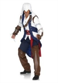 Leg-Avenue-Mens-Assassins-Creed-5-Piece-Connor-Deluxe-Costume-Cosplay-0