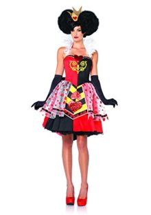 Leg-Avenue-Womens-Disney-3Pc-Queen-Of-Hearts-Costume-0