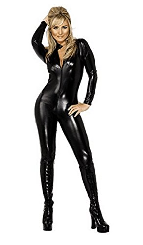 Lorembelle-Ladies-Sexy-Catwoman-Catsuit-PVC-Jumpsuit-Cat-Sexy-Halloween-Hero-Villain-Fancy-Dress-Costume-Outfit-0