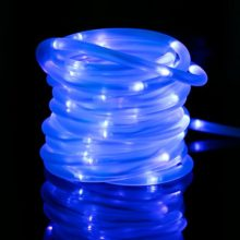 MEIKEE-33ft-Dimmable-Solar-Rope-LightsHalloween-Decoration-Light-100-LED-8-Lighting-Modes-Light-Sensor-Waterproof-Ideal-for-Decorations-ChristmasGardens-Lawn-Patio-Weddings-PartiesBlue-0