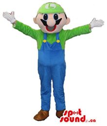 Mario-Bros-Luigi-Video-Game-Character-Plush-Mascot-SpotSound-US-0
