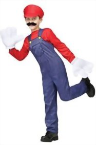Mememall-Fashion-Mario-Boy-Video-Game-Guy-Child-Costume-Red-0