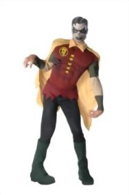 Mens-DC-Comics-Muscle-Chest-Zombie-Robin-Costume-Multi-Standard-0