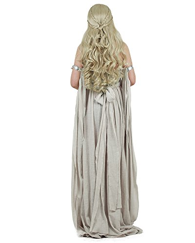Miccostumes-Womens-A-Song-of-Ice-And-Fire-Daenerys-Targaryen-Cosplay-Grey-Long-Dress-0-1