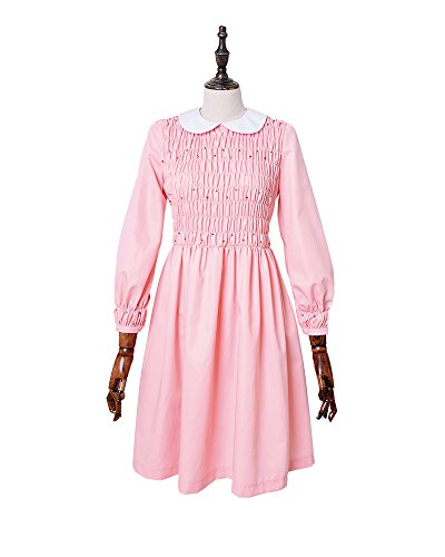 Miccostumes Women's Stranger Things Eleven Cosplay Dress