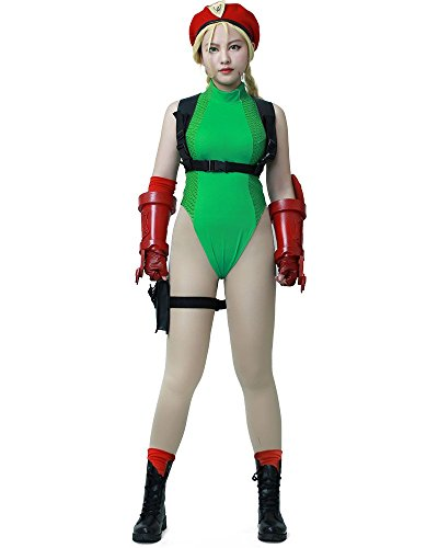 Miccostumes Women's Street Fighter V Cammy White Cosplay Costume