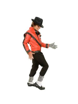 Michael-Jackson-Costume-Childs-Deluxe-Red-Thriller-Jacket-Costume-0