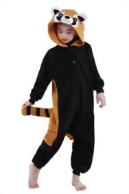 Newcosplay-Children-Costumes-Animal-Onesies-Sleepwear-Kigurumi-Pajamas-Halloween-Costumes-5-for-height-45-47-racoon-0