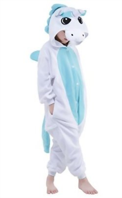 Newcosplay-Children-Unisex-Unicorn-Onesie-Pajamas-Costume-0-0