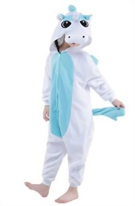 Newcosplay-Children-Unisex-Unicorn-Onesie-Pajamas-Costume-0-2