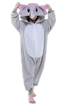 Newcosplay-Unisex-Children-Gray-elephant-Pyjamas-Halloween-Costume-0