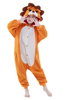 Newcosplay-Unisex-Children-Lion-Pyjamas-Halloween-Costume-0