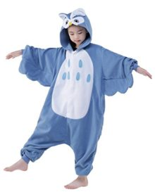 Newcosplay-Unisex-Children-Owl-Pyjamas-Halloween-Kids-Costume-0-0