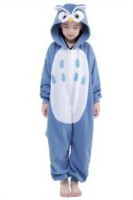 Newcosplay-Unisex-Children-Owl-Pyjamas-Halloween-Kids-Costume-0