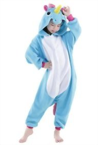Newcosplay-Unisex-Children-Unicorn-Pyjamas-Halloween-Kids-Onesie-Costume-0