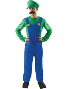 Orion-Costumes-Mens-Super-Mario-Bros-Luigi-Plumber-Costume-Fancy-Dress-0
