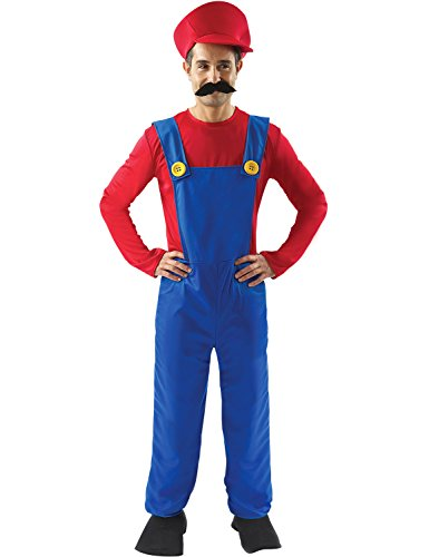 orion costumes mens super mario bros plumber costume
