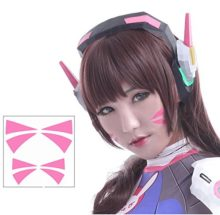 Overwatch-DVa-Cosplay-Face-Temporary-Tattoos-2-Sizes-0