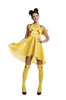 Pokemon-Pikachu-Costume-Dress-4-Sizes-0