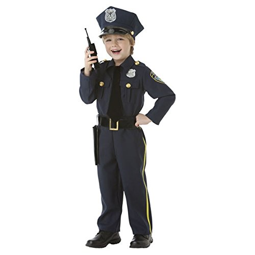 Police Officer – 5 Piece Costume Set – Size Small (4-6)