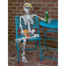 Prextex-4-Feet-Posable-Halloween-Skeleton-Full-Body-Halloween-Skeleton-with-Movable-Posable-Joints-for-Best-Halloween-Decoration-0