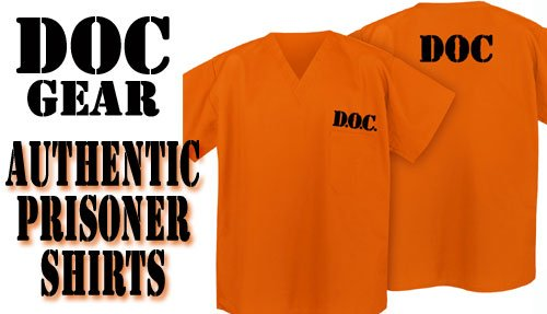 Prison-Costume-ORANGE-DOC-Convict-Jail-Uniform-0- & Prison Costume ORANGE DOC Convict Jail Uniform - Halloween Costumes Best