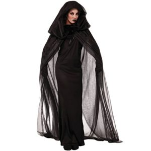 Quesera-Womens-Ghost-Bride-Costume-Haunted-Black-Long-Cape-Halloween-Scary-Outfits-0