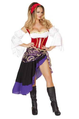 Roma Costume Women's 6 piece Sexy Gypsy Maiden