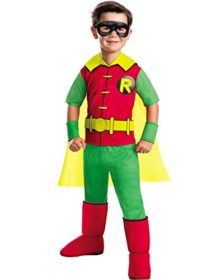 Rubies-Costume-Boys-DC-Comics-Deluxe-Robin-Costume-0