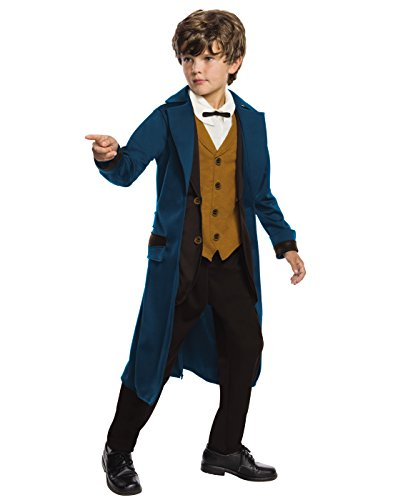 Rubie's Costume Boys Fantastic Beasts & Where To Find Them Deluxe Newt Scamander Costume