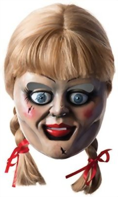Rubies Costume Co Annabelle Horror Mask With Wig