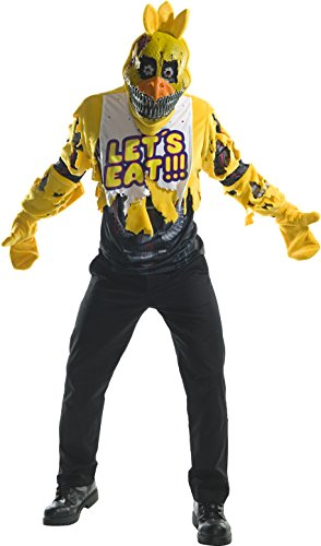 Rubie's Costume Co. Men's Five Nights At Freddy's Deluxe Nightmare Chica Costume