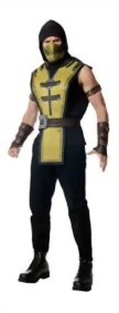 Rubies-Costume-Co-Mens-Mortal-Kombat-X-Scorpion-Costume-0