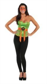 Rubies-Costume-Co-Womens-TMNT-Classic-Costume-Sequined-Michelangelo-Corset-0