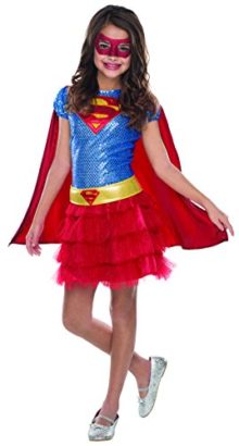 Rubies-Costume-DC-Superheroes-Supergirl-Sequin-Child-Costume-0