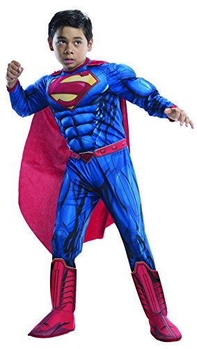 Rubie's Costume DC Superheroes Superman Deluxe Child Costume