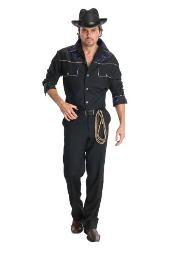 Rubie's Costume Heroes And Hombres Adult Cowboy Shirt And Hat
