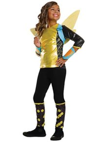 Rubies-Costume-Kids-DC-Superhero-Girls-Deluxe-Bumblebee-Costume-0