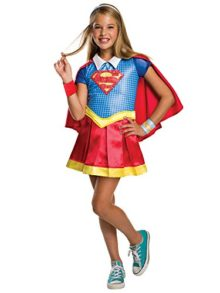Rubies-Costume-Kids-DC-Superhero-Girls-Deluxe-Supergirl-Costume-0