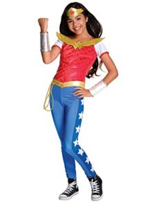Rubies-Costume-Kids-DC-Superhero-Girls-Deluxe-Wonder-Woman-Costume-0