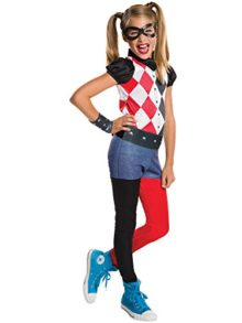 Rubies-Costume-Kids-DC-Superhero-Girls-Harley-Quinn-Costume-0