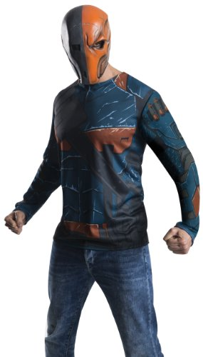 Rubie's Costume Men's Batman Arkham City Adult Deathstroke Top