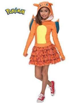 Rubies-Costume-Pokemon-Charizard-Child-Hooded-Costume-Dress-Costume-0-0
